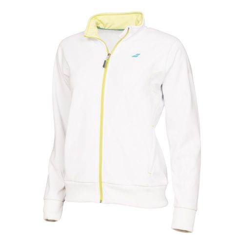 Babolat Performance Jacket Girl Training Jacket Girls - White