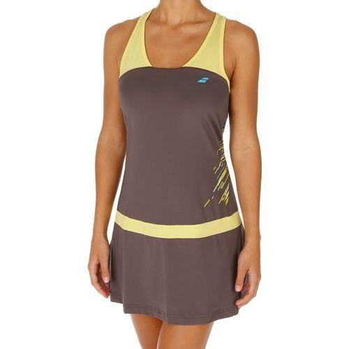 Babolat Performance Racerback Dress Women - Dark Grey