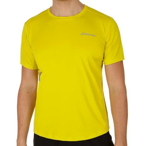 Babolat Match Core Flag T-Shirt Men - Yellow