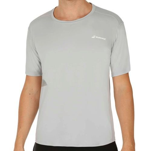 Babolat Match Core Flag T-Shirt Men - Grey