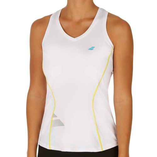 Babolat Match Core Crop Tank Top Women - White