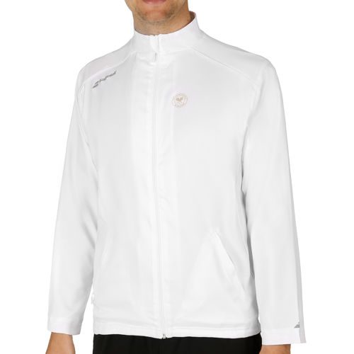 Babolat Match Core Wimbledon Tracksuit Jacket Training Jacket Men - White