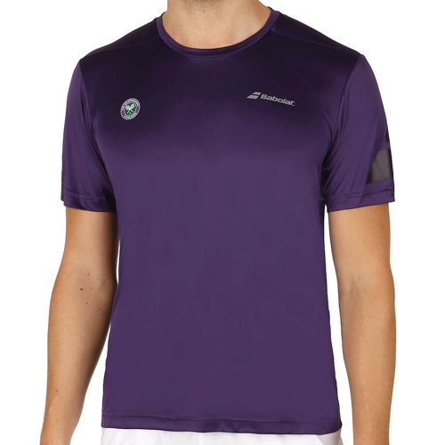 Babolat Performance Wimbledon Crew Neck T-Shirt Men - Violet