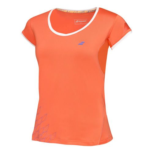 Babolat Performance Girl Capsleeve Girls - Red