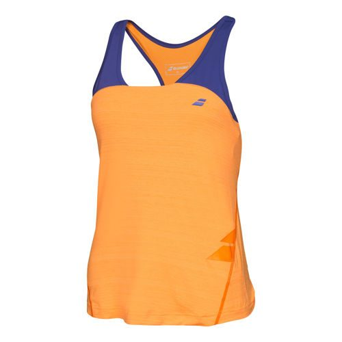 Babolat Performance Racerback Tank Top Girls - Orange