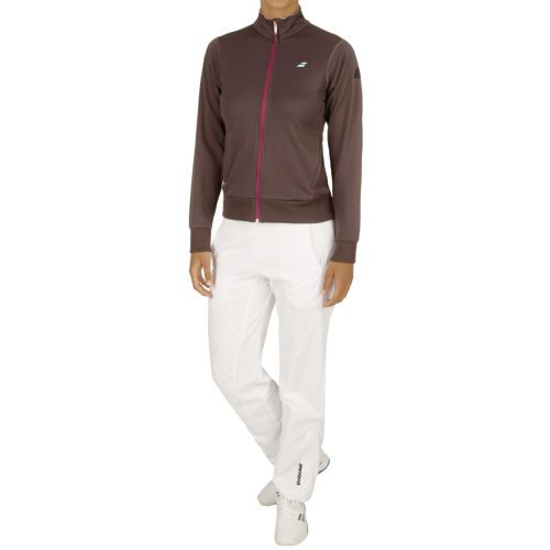Babolat Performance Tracksuit Women - Dark Grey, White