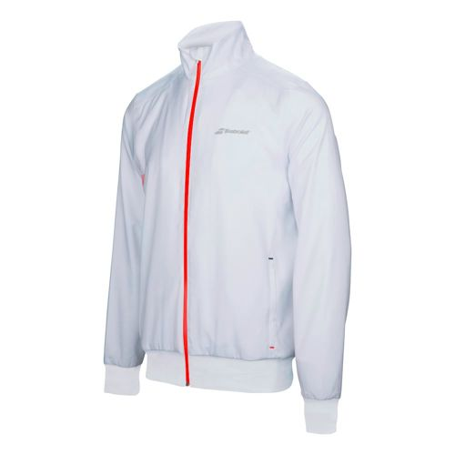 Babolat Core Club Training Jacket Boys - White