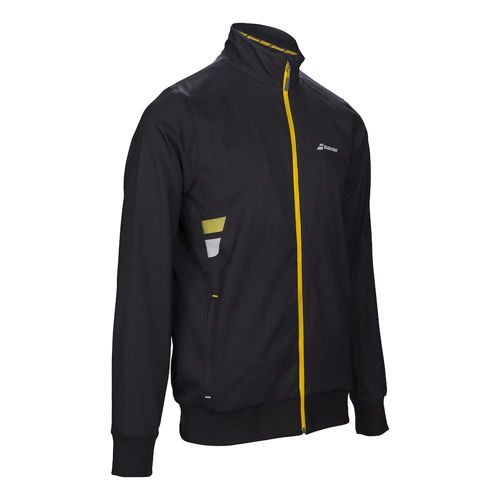Babolat Core Club Training Jacket Boys - Black, Yellow
