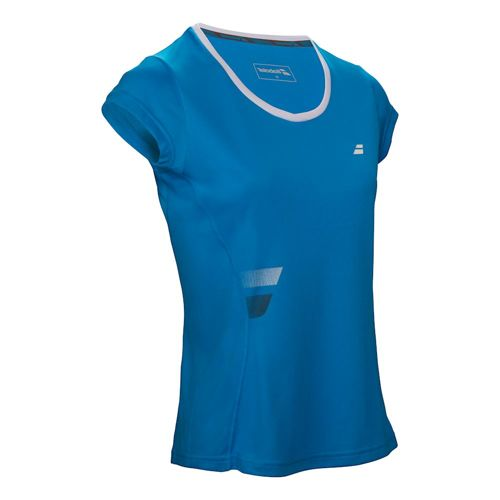 Babolat Core Flag Club T-Shirt Girls - Blue
