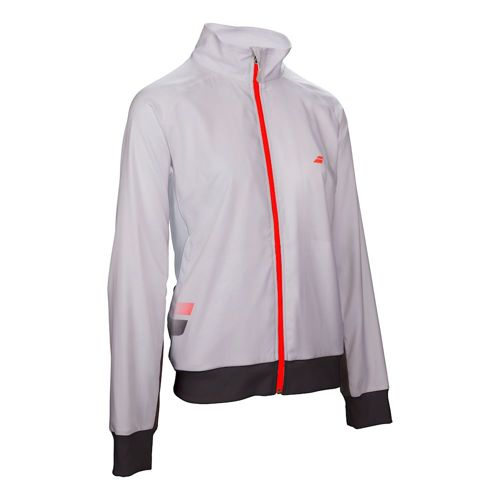 Babolat Core Club Training Jacket Girls - White, Black