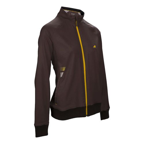 Babolat Core Club Training Jacket Girls - Dark Grey, Yellow