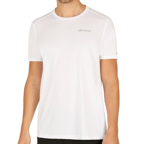 Babolat Core Flag Club T-Shirt Men - White