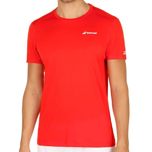 Babolat Core Flag Club T-Shirt Men - Red
