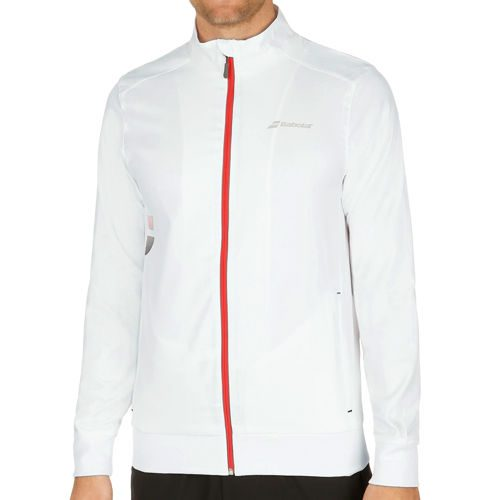 Babolat Core Club Training Jacket Men - White