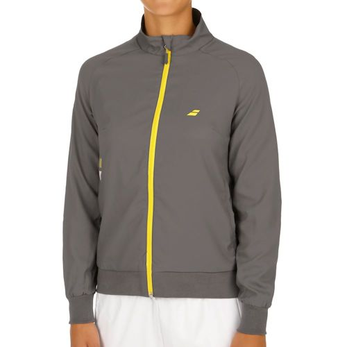 Babolat Core Club Training Jacket Women - Brown, Yellow
