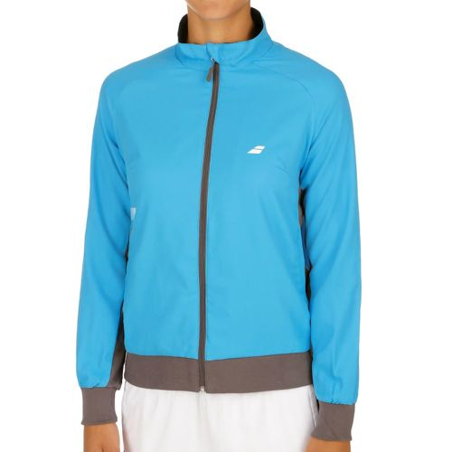 Babolat Core Club Training Jacket Women - Turquoise, Brown