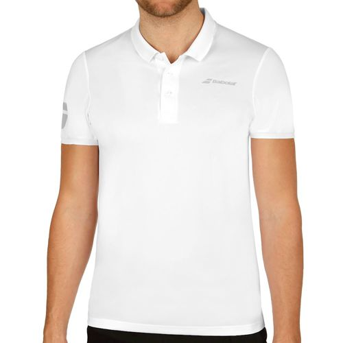 Babolat Core Club Polo Men - White, Grey