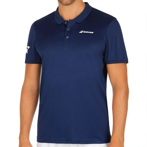 Babolat Core Club Polo Men - Dark Blue, White