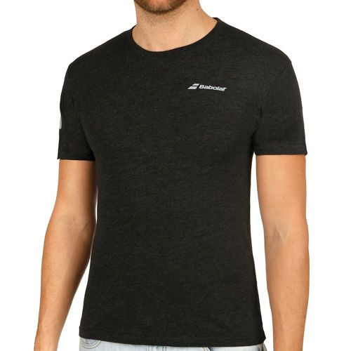 Babolat Core T-Shirt Men - Black, Silver