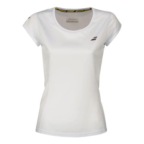 Babolat Core Flag Club T-Shirt Girls - White
