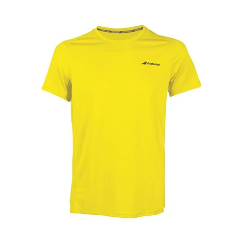 Babolat Core Flag Club T-Shirt Boys - Yellow, Black