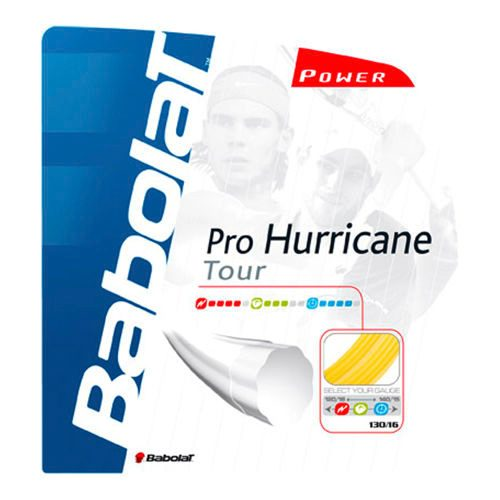 Babolat Pro Hurricane Tour String Set 12m - Yellow