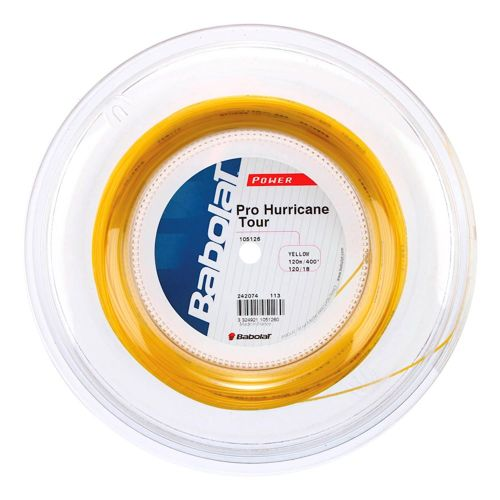 Babolat Pro Hurricane Tour String Reel 120m - Yellow