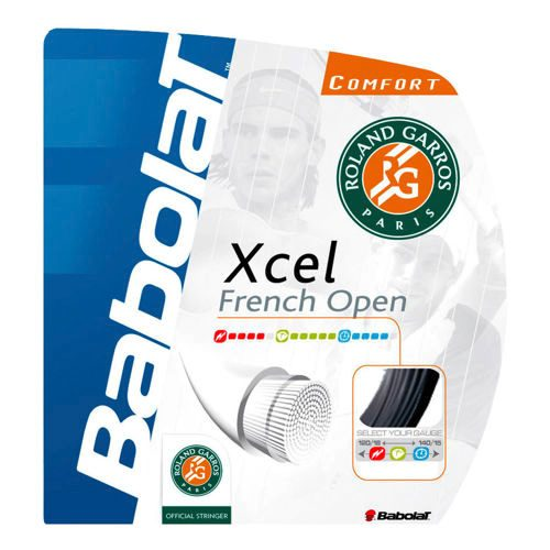 Babolat Xcel French Open String Set 12m - Black