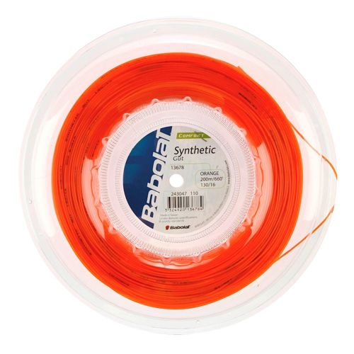 Babolat Synthetic Gut String Reel 200m - Orange