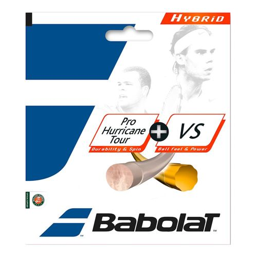 Babolat Pro Hurricane Tour + VS Hybridsaite String Set 12,2m