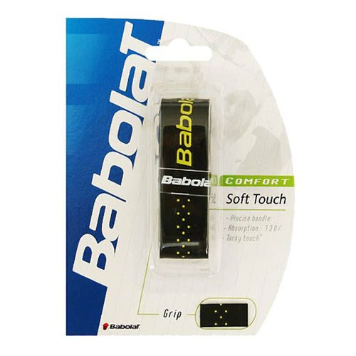 Babolat Soft Touch Grip 1 Pack - Black, Yellow