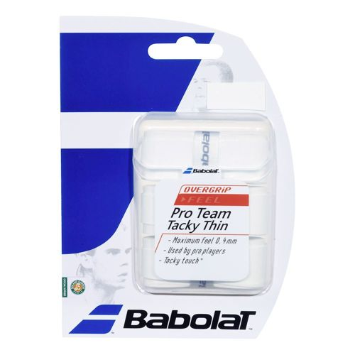 Babolat Pro Team Tacky 3 Pack - White