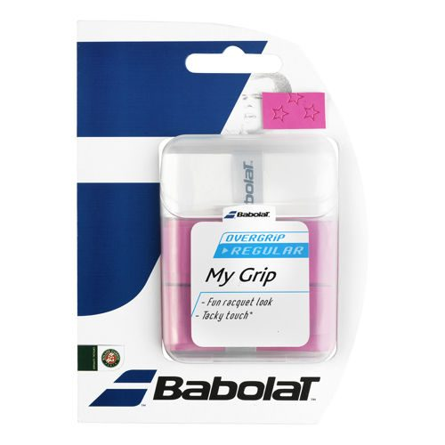 Babolat My Grip 3 Pack - White, Pink