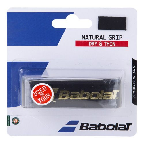 Babolat Natural Grip 1 Pack - Black