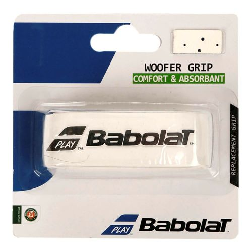Babolat Woofer Grip, 1 Pack - White, Blue