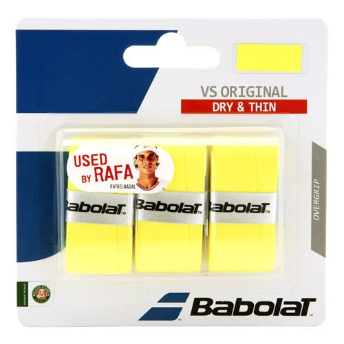 Babolat VS Grip Original 3 Pack - Yellow