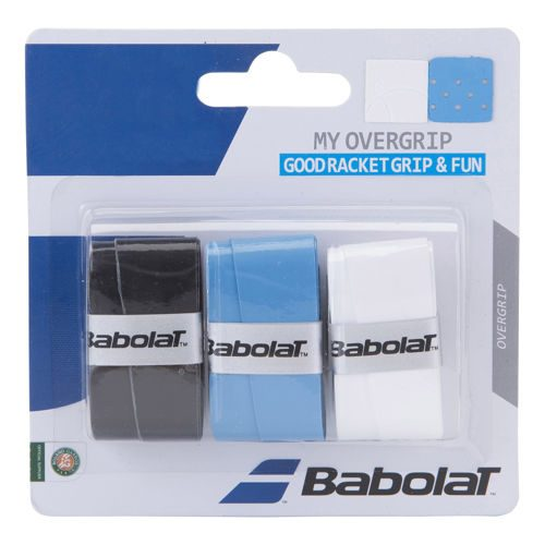 Babolat My Overgrip 3 Pack - Black, White