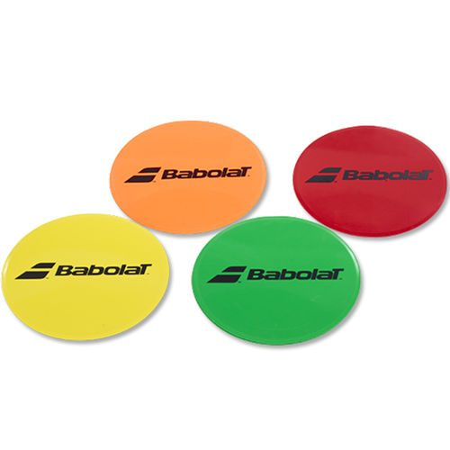 Babolat Target Markers 8 Pack Round - Red, Orange