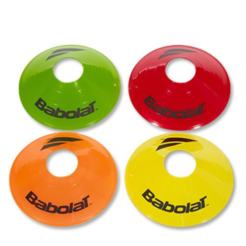 Babolat Target Marker Set 10 Pack - Red, Orange