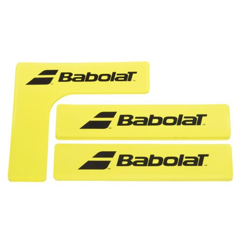 Babolat Lines And Corners Marking Lines Set 16 Pack - Red, Orange
