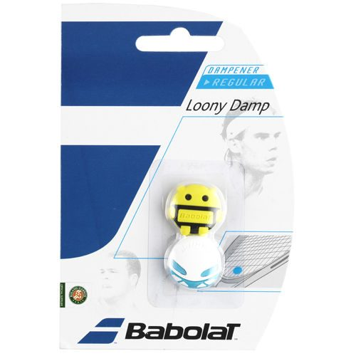 Babolat Loony Damp Pack Dampener 2 Pack - Blue, Yellow