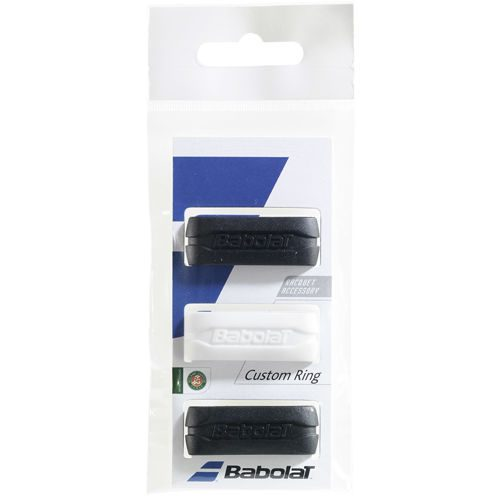 Babolat Custom Ring Pack Racket Accessories 3 Pack - Black, White