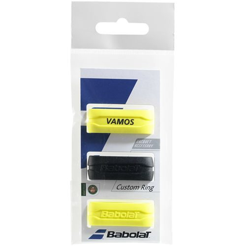 Babolat Custom Ring 3 Pack - Black, Yellow