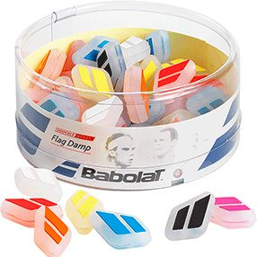 Babolat Flag Damp Box Dampener Box Of 50 Pcs - Multicoloured