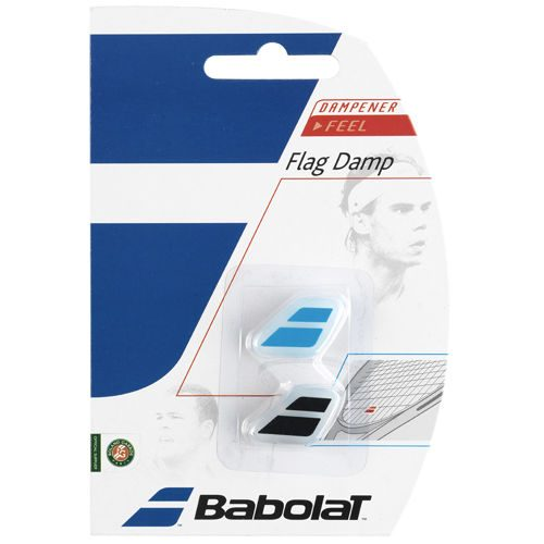 Babolat Flag Damp Pack Dampener 2 Pack - Black, Blue