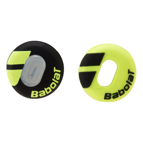 Babolat Custom Damp Dampener 2 Pack - Black, Yellow