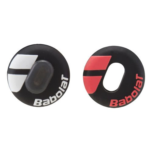 Babolat Custom Damp Dampener 2 Pack - Black, Red