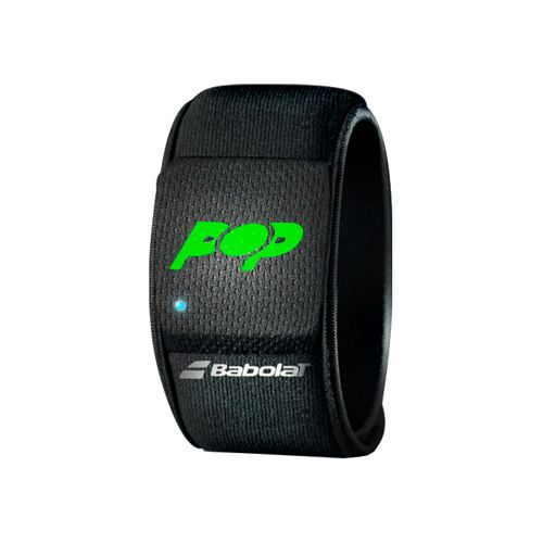 Babolat Pop Wristband Accessories - Black, Green