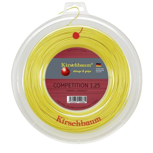 Kirschbaum Competition String Reel 200m - Yellow