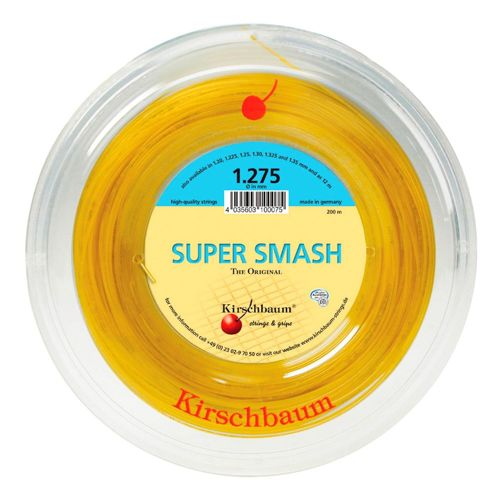 Kirschbaum Super Smash String Reel 200m - Yellow